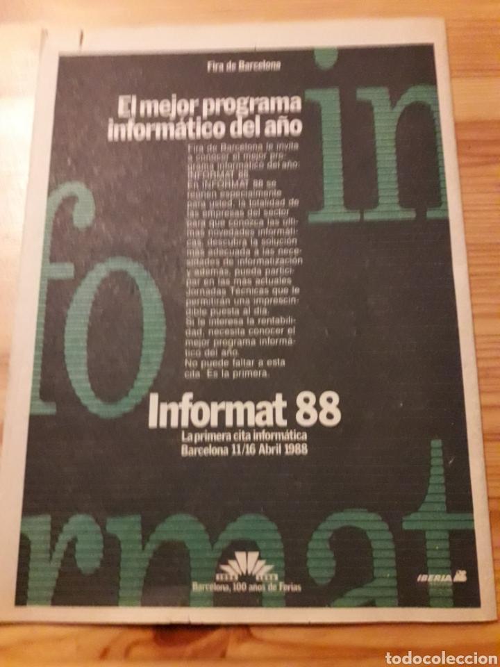 Coleccionismo deportivo: Sport revista dominical deportes 1988 futbol tenis - Foto 2 - 139116974