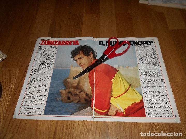Coleccionismo deportivo: DON BALON Nº 434 1984 COLOR ZUBIZARRETA ATHLETIC BILBAO - RECREATIVO HUELVA POSTER CENTRAL - Foto 2 - 139202942
