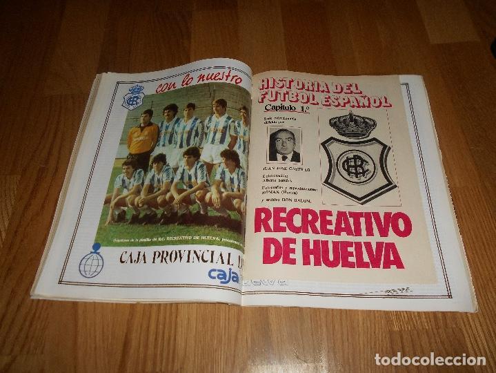 Coleccionismo deportivo: DON BALON Nº 434 1984 COLOR ZUBIZARRETA ATHLETIC BILBAO - RECREATIVO HUELVA POSTER CENTRAL - Foto 4 - 139202942
