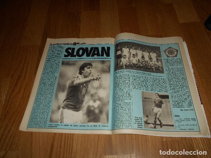 Coleccionismo deportivo: DON BALON Nº 434 1984 COLOR ZUBIZARRETA ATHLETIC BILBAO - RECREATIVO HUELVA POSTER CENTRAL - Foto 5 - 139202942
