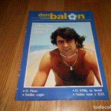 Coleccionismo deportivo: DON BALON Nº 355 1982 PORTADA Y COLOR KEMPES VALENCIA - UEFA SEVILLANA SEVILLA Y BETIS - MARADONA. Lote 181611851