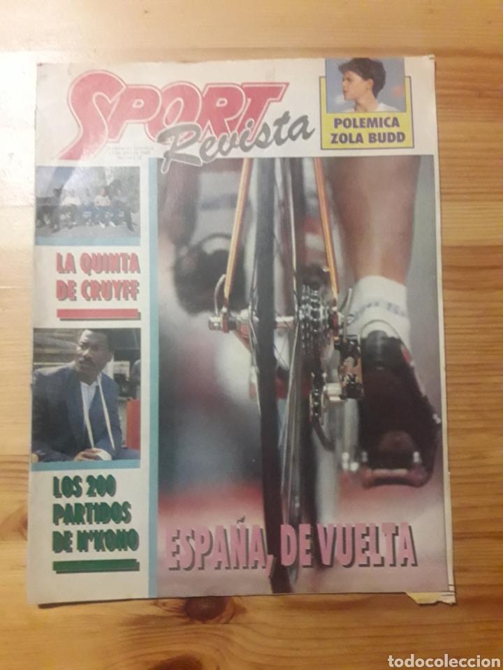 SPORT REVISTA DOMINICAL DEPORTES 1988 FUTBOL CICLISMO VUELTA (Coleccionismo Deportivo - Revistas y Periódicos - Sport)