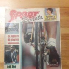 Coleccionismo deportivo: SPORT REVISTA DOMINICAL DEPORTES 1988 FUTBOL CICLISMO VUELTA. Lote 139554392