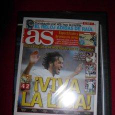 Coleccionismo deportivo: DVD CLASICOS DE LEYENDA VIVA LA LIGA REAL MADRID 4 - BARCELONA 2 ( ABRIL 2005 ). Lote 139679130