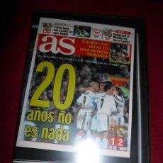 Coleccionismo deportivo: DVD CLASICOS DE LEYENDA 20 AÑOS NO ES NADA ( DICIEMBRE 2003). Lote 139679442