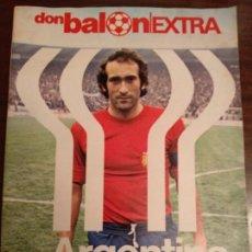 Coleccionismo deportivo: REVISTA DON BALON - EXTRA MUNDIAL ARGENTINA 78 - AÑO 1978 DONBALON. Lote 139699686