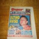 Coleccionismo deportivo: SPORT - 23 DE ABRIL DE 1995 - CRUYFF, ÚLTIMO AVISO - NÚMERO 5553. Lote 139743021