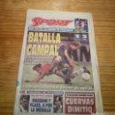 Coleccionismo deportivo: SPORT - 6 DE AGOSTO DE 1995 - NÚMERO 5658. Lote 139744269
