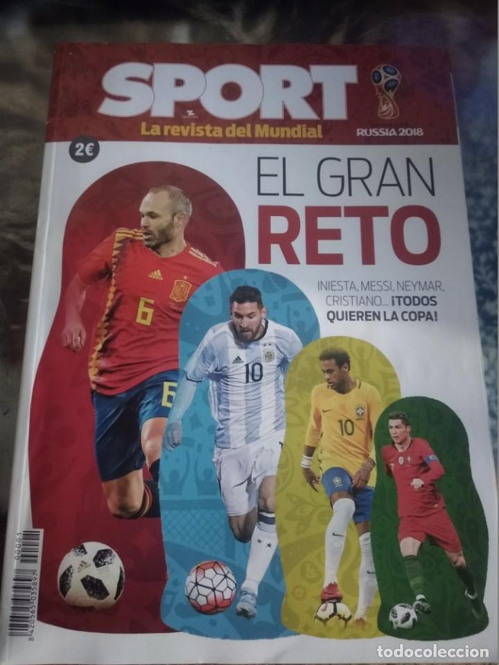 LA REVISTA DEL MUNDIAL SPORT RUSIA 2018 (LEER DESCRIPCIÓN) (Coleccionismo Deportivo - Revistas y Periódicos - Sport)