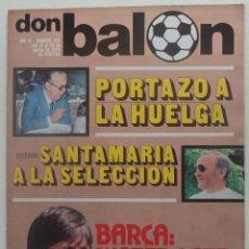 Coleccionismo deportivo: REVISTA DON BALON Nº 150 DEL 22 AL 28 DE AGOSTO 1978 POSTER CENTRAL SEVILLA 78/79. Lote 140161098