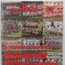 Coleccionismo deportivo: REVISTA DON BALON Nº 434 DEL 31 ENERO AL 6 DE FEBRERO 1984 CUADERNILLO Y POSTER R.HUELVA . Lote 140167618