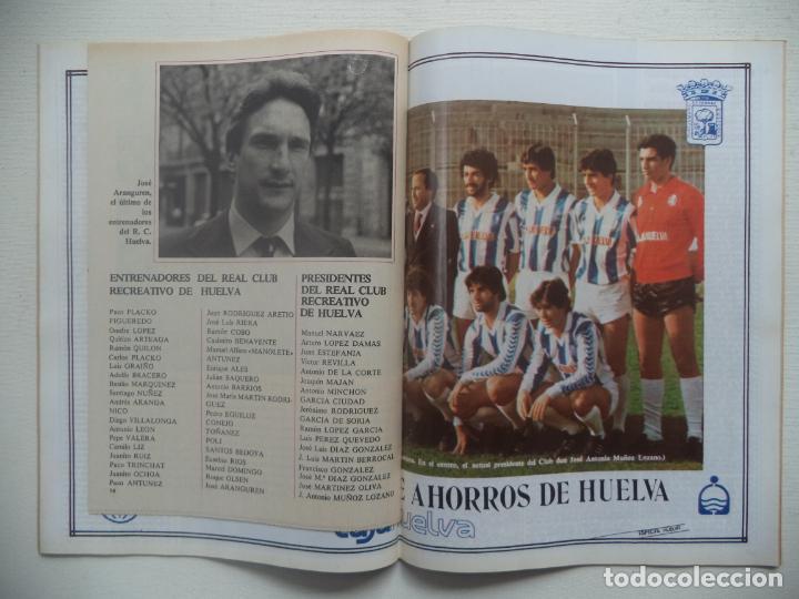 Coleccionismo deportivo: REVISTA DON BALON Nº 434 DEL 31 ENERO AL 6 DE FEBRERO 1984 CUADERNILLO Y POSTER R.HUELVA - Foto 3 - 140167618