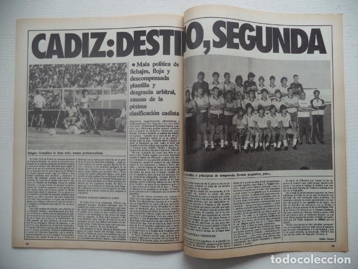 Coleccionismo deportivo: REVISTA DON BALON Nº 434 DEL 31 ENERO AL 6 DE FEBRERO 1984 CUADERNILLO Y POSTER R.HUELVA - Foto 4 - 140167618