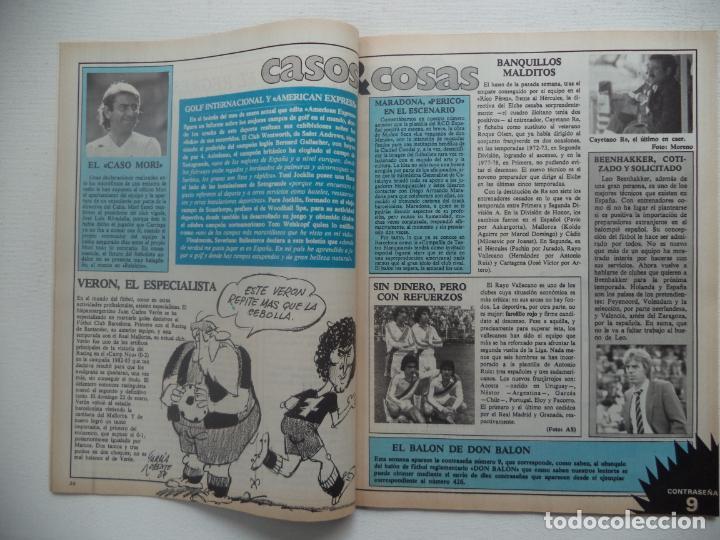 Coleccionismo deportivo: REVISTA DON BALON Nº 434 DEL 31 ENERO AL 6 DE FEBRERO 1984 CUADERNILLO Y POSTER R.HUELVA - Foto 5 - 140167618