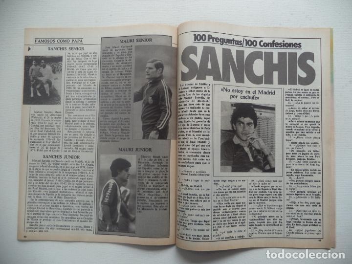 Coleccionismo deportivo: REVISTA DON BALON Nº 427 DEL 13 AL 19 DE DICIEMBRE 1983 POSTER CARICATURA DE MIGUEL ANGEL R.MADRID - Foto 3 - 140168374