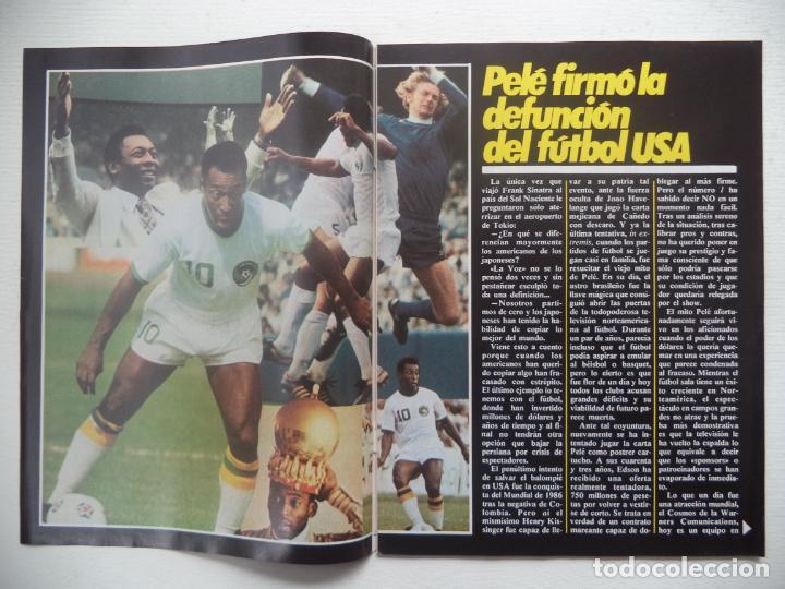 Coleccionismo deportivo: REVISTA DON BALON Nº 427 DEL 13 AL 19 DE DICIEMBRE 1983 POSTER CARICATURA DE MIGUEL ANGEL R.MADRID - Foto 4 - 140168374