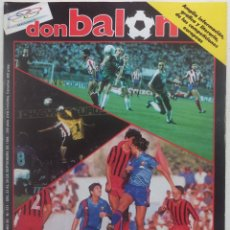 Coleccionismo deportivo: REVISTA DON BALON Nº 571 DEL 23 AL 29 DE SEPTIEMBRE 1986 ESPECIAL U.E.F.A. Lote 140171294