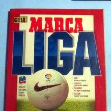 Coleccionismo deportivo: GUIA MARCA LIGA 96-97 EN BUEN ESTADO CON 242 PAGINAS LLENAS DE INFORMACION . Lote 140526102