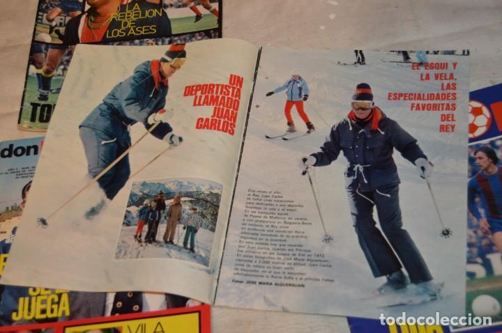 Coleccionismo deportivo: LOTE DE 4 REVISTAS DON BALÓN - AÑOS 70 - Nº 65. 66, 67 Y 68 - GRADESA - HAZ OFERTA - LOTE 01 - Foto 7 - 140632314