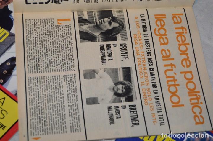 Coleccionismo deportivo: LOTE DE 4 REVISTAS DON BALÓN - AÑOS 70 - Nº 65. 66, 67 Y 68 - GRADESA - HAZ OFERTA - LOTE 01 - Foto 8 - 140632314