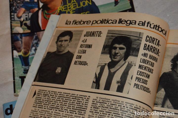 Coleccionismo deportivo: LOTE DE 4 REVISTAS DON BALÓN - AÑOS 70 - Nº 65. 66, 67 Y 68 - GRADESA - HAZ OFERTA - LOTE 01 - Foto 11 - 140632314