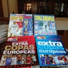 Coleccionismo deportivo: DON BALON EXTRA COPAS EUROPEAS 2001 AL 2007. Lote 140642970