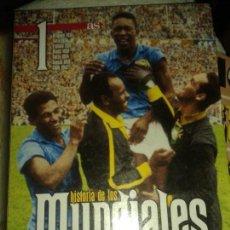 Coleccionismo deportivo: HISTORIA DE LOS MUNDIALES - 4 VOLUMENES DIARIO AS. Lote 140649270
