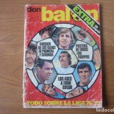 Coleccionismo deportivo: REVISTA FUTBOL DON BALON EXTRA LIGA 76 77 - AÑO II AGOSTO 76 128 PAGS - TEMPORADA 1976 1977 . Lote 140768894