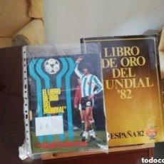 Coleccionismo deportivo: LIBRO DE ORO. MUNDIAL 1982 ESPAÑA . HISTÓRICO.. Lote 140875977