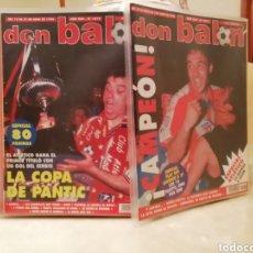 Coleccionismo deportivo: DON BALON ATLÉTICO MADRID DOBLETE. LIGA Y COPA.. Lote 140932729