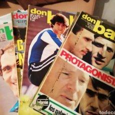Coleccionismo deportivo: DON BALON ENERO 1979. PROTAGONISTAS DEL 1978. Lote 141143282