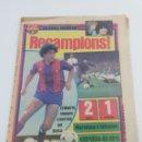 Coleccionismo deportivo: DIARIO SPORT FC BARCELONA REAL MADRID FINAL COPA DE LA LIGA BARÇA CAMPEON RECAMPIONS, 30 JUNIO 1983.. Lote 160378698