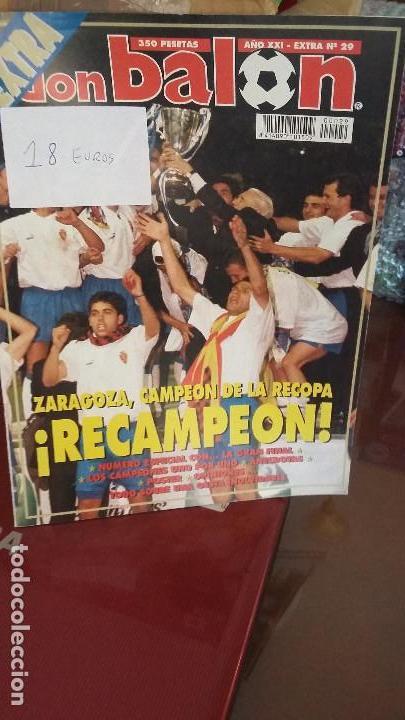 DON BALON - REAL ZARAGOZA EXTRA RECOPA 1995 (Coleccionismo Deportivo - Revistas y Periódicos - Don Balón)