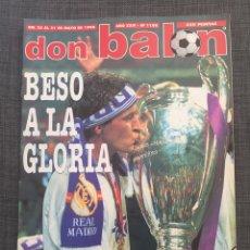 Coleccionismo deportivo: DON BALÓN 1180 - REAL MADRID CAMPEÓN DE EUROPA CON PÓSTER. Lote 141543778