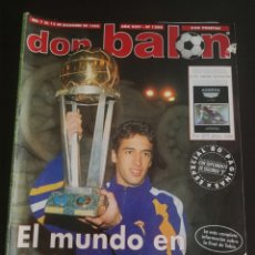 Coleccionismo deportivo: DON BALON N°1208 REAL MADRID CAMPEÓN INTERCONTINENTAL 1998. Lote 141543968
