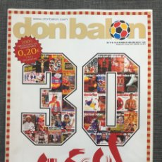 Coleccionismo deportivo: DON BALÓN 1565 - ZIDANE - TORRES - PÓSTER RONALDINHO - GEORGE BEST. Lote 141549565