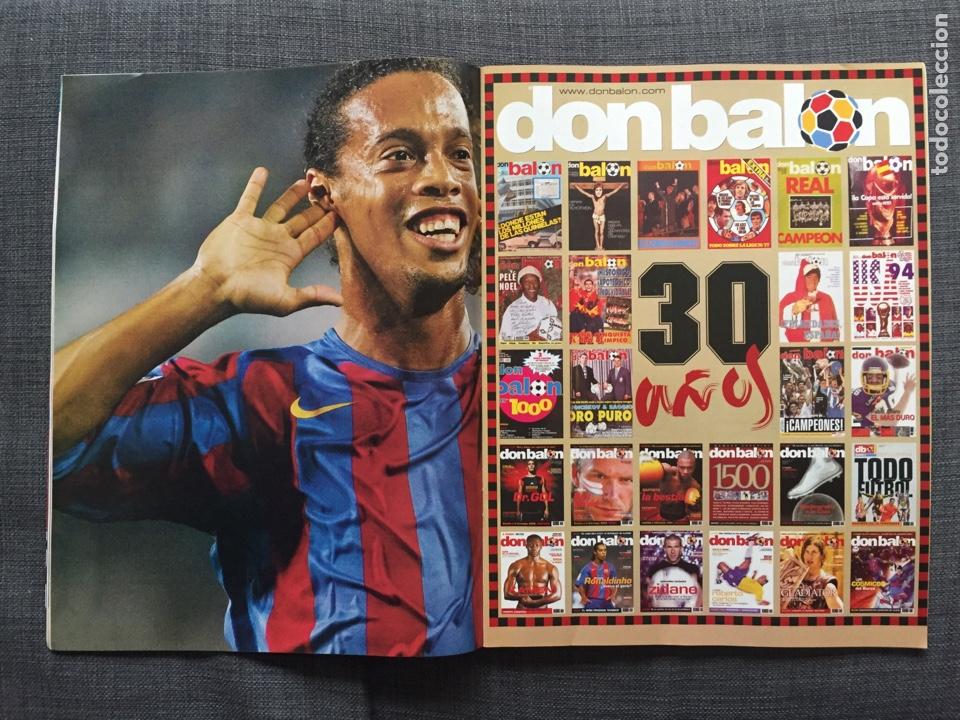 Coleccionismo deportivo: Don balón 1565 - Zidane - Torres - Póster Ronaldinho - George Best - Foto 4 - 141549565