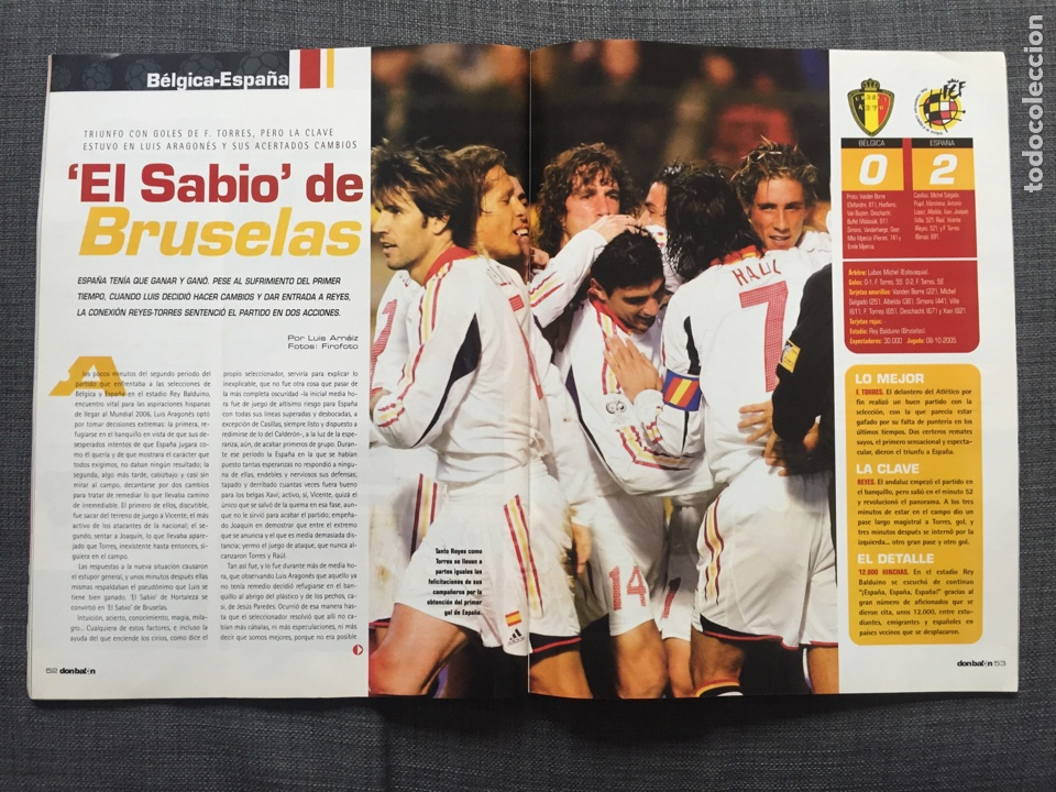 Coleccionismo deportivo: Don balón 1565 - Zidane - Torres - Póster Ronaldinho - George Best - Foto 7 - 141549565