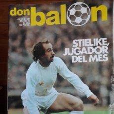 Coleccionismo deportivo: DON BALON Nº 287 1981 REPORTAJE COLOR MACEDA SPORTING GIJON QUIQUE ATLETICO MADRID. Lote 141589770