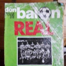 Coleccionismo deportivo: REVISTA DON BALON 17 AL 23 DE FEBRERO DE 1981 Nº 290 VER FOTOS. Lote 141589942
