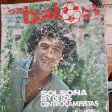 Coleccionismo deportivo: DON BALON Nº 320 1981 SOLSONA VALENCIA JUAN JOSE CADIZ - ESTEBAN BARCELONA - ANDRES SPORTING GIJON. Lote 141590138