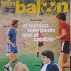 Coleccionismo deportivo: POSTER ARGOTE REPORTAJES ATH. BILBAO CLEMENTE 1.981 DON BALON NUMERO 307. Lote 141590494