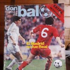 Coleccionismo deportivo: DON BALON Nº 295 1981 EXTRA 88 PAGINAS TODO SOBRE ASCENS 2 º DIVISION CORDOBA CADIZ DEPORTIVO CORUÑA. Lote 141591414