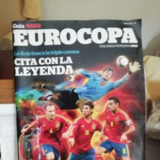 Coleccionismo deportivo: EUROCOPA 2012. GUÍA MARCA TABLOIDE.. Lote 141729493