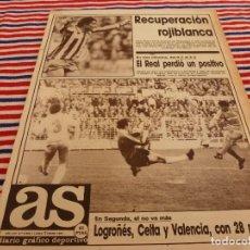 Coleccionismo deportivo: AS(5-1-87) ZARAGOZA 2 R.MADRID 2,AT.MADRID 3 MALLORCA 1,RAYO VALLECANO 1 MÁLAGA 0.. Lote 141809154