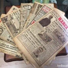 Coleccionismo deportivo: 7 PERIODICOS MARCA AÑOS 1944 1947. Lote 142045914