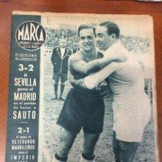 Coleccionismo deportivo: OFERTA 3 REVISTAS MARCA 1944. Lote 142048518
