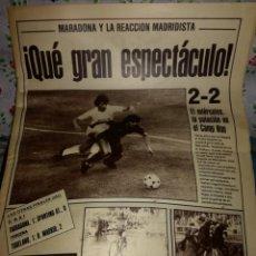 Coleccionismo deportivo: AS. QUE GRAN ESPECTÁCULO. Lote 142104234