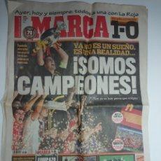 Coleccionismo deportivo: MARCA - 30 DE JUNIO DE 2008 - SOMOS CAMPEONES - ESPAÑA CAMPEONA DE EUROCOPA 2008. Lote 142112598