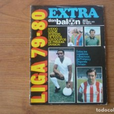 Coleccionismo deportivo: REVISTA FUTBOL DON BALON EXTRA LIGA 79 80 - TEMPORADA 1979 1980. Lote 142194050